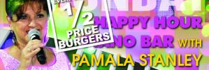 Pamala Stanley and 1/2 Price Burgers
